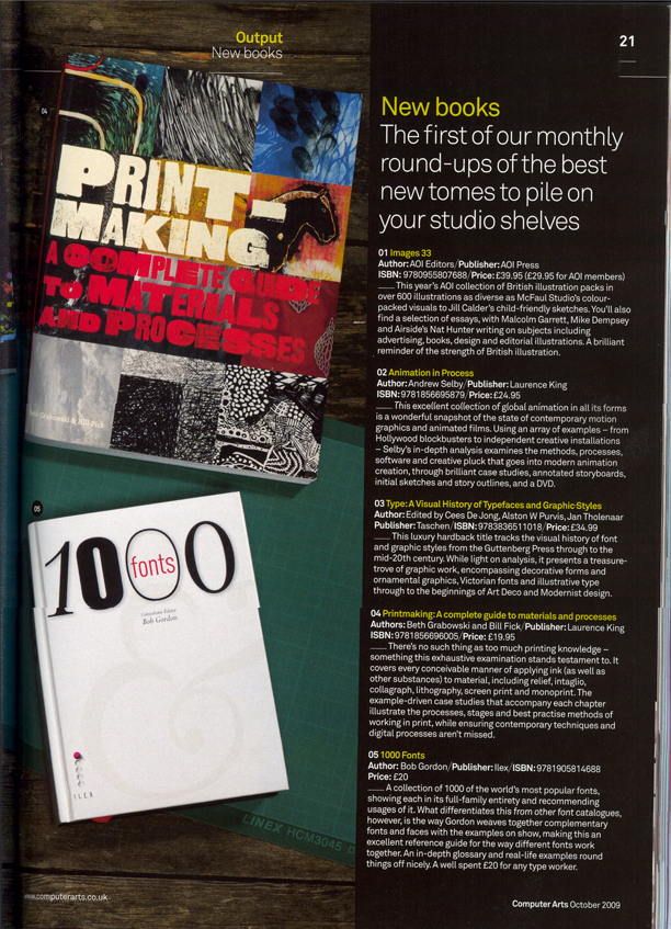 book in magazine