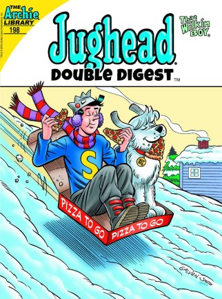 The cover to Jughead Double Digest #198