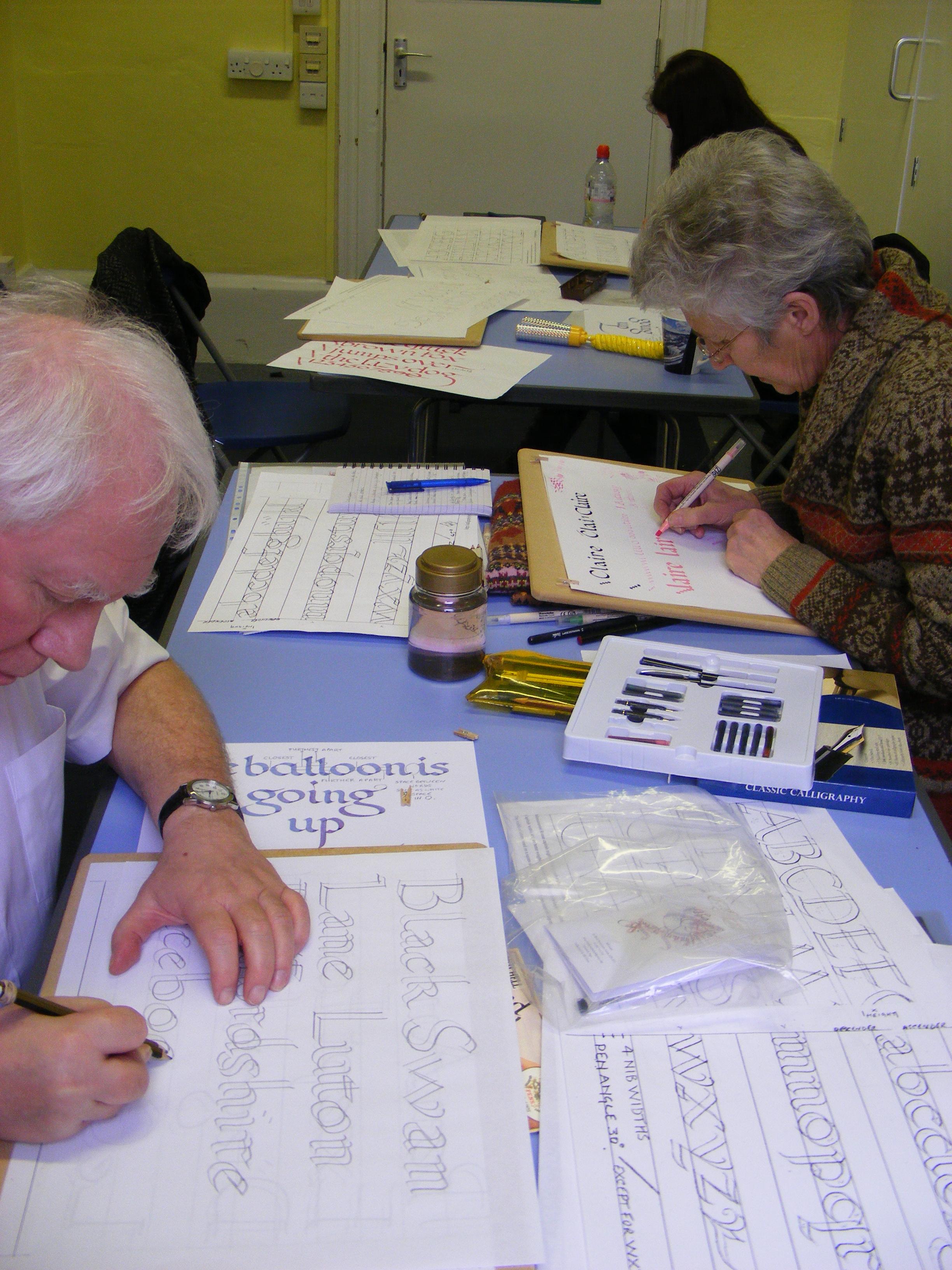 Luton Calligraphy Workshops Week 2