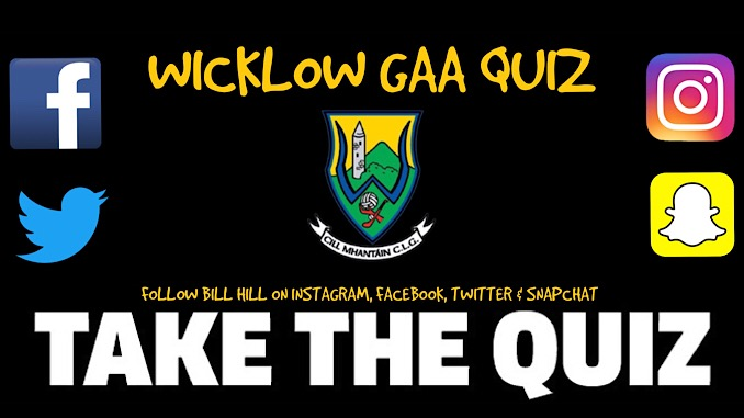 Wicklow GAA Quiz - Can You Top The Leaderboard?
