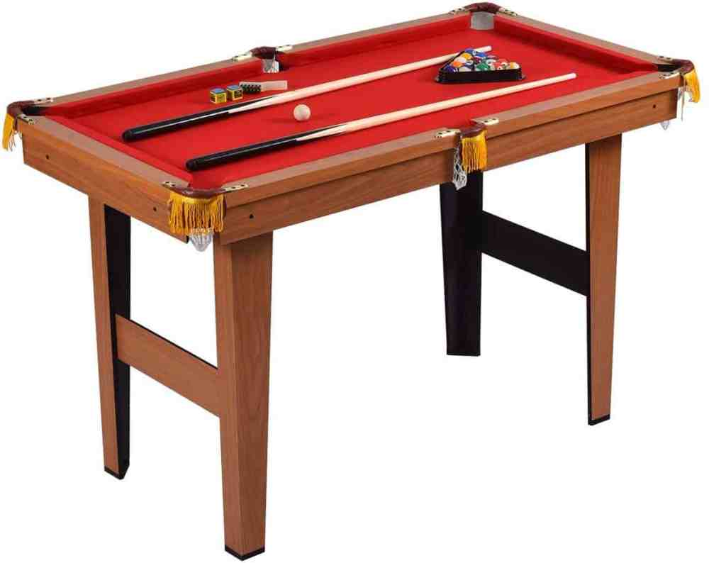 GYMAX Mini Pool Table