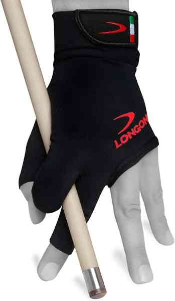 Longoni Black Fire Gloves - for Left or Right Hand