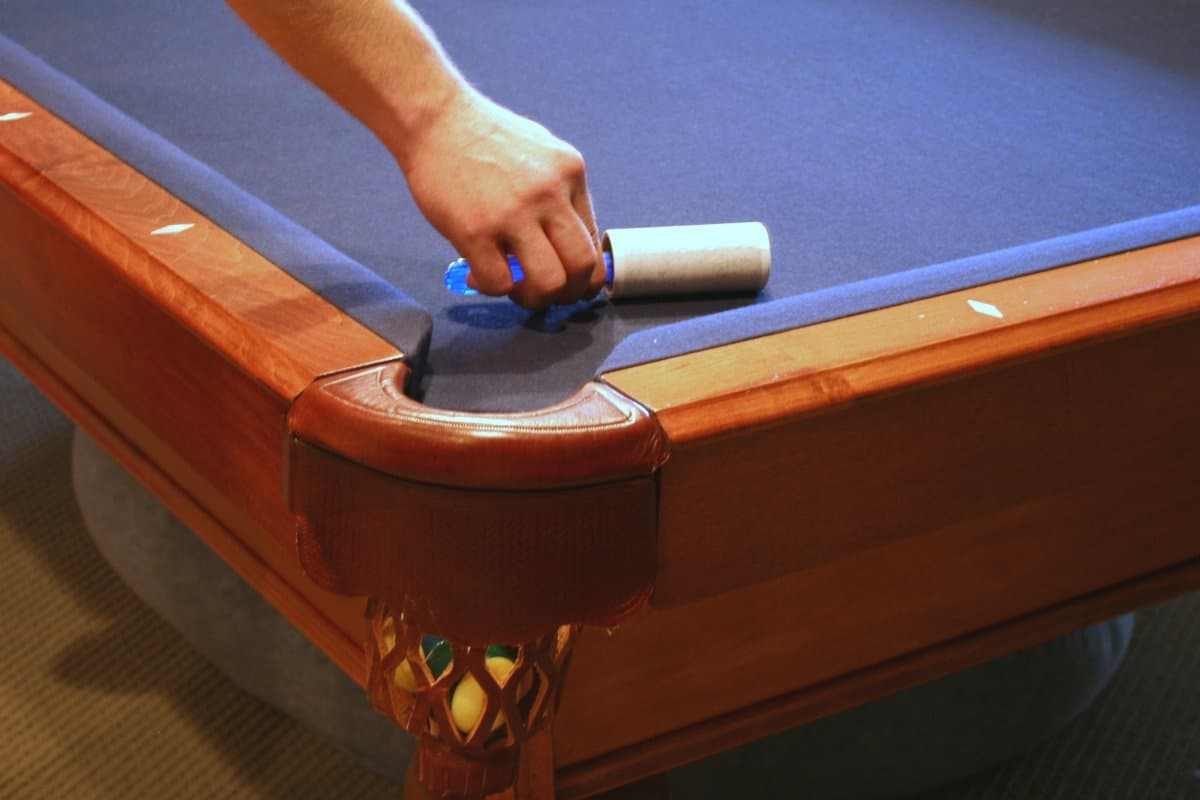 How to Clean Pool Table Felt