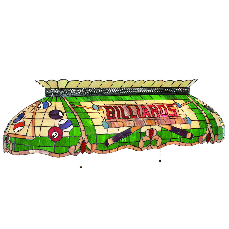 Ram Game Room Cf50 Billiards 6 Light Tiffany Style Pool Table Light Billiardlux
