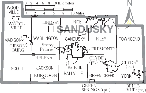 Sandusky_County_Ohio_map