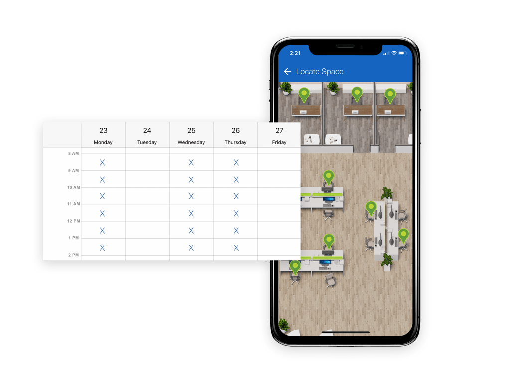 GoSpaces Mobile | Control Bookable Spaces | Locate Space