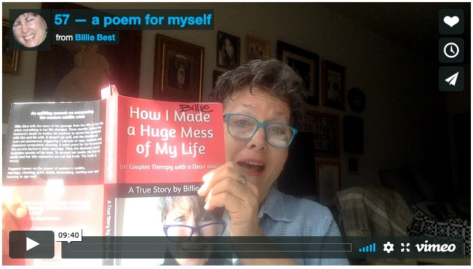 Video: 57, a poem for myself