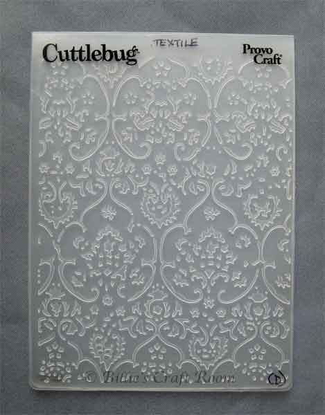 Review Cuttlebug Embossing Folders Billies Craft Room