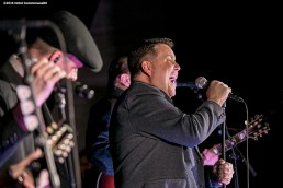 """""""The Dropkick Murphys perform during the Hotel Commonwealth Sparkle & Glow grand opening party at Hotel Commonwealth in Boston, Massachusetts Thursday, January 21, 2016."""""""