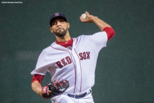 BOSTON, MA - MAY 1: David Price #24 of the Boston Red Sox delivers during the first inning of a game against the New York Yankees on May 1, 2016 at Fenway Park in Boston, Massachusetts. (Photo by Billie Weiss/Boston Red Sox/Getty Images) *** Local Caption *** David Price