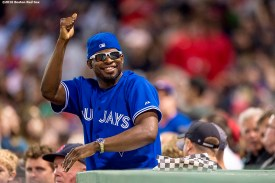 BOSTON, MA - JUNE 3: P.K. Subban of the Montreal Canadiens attends a game between the Boston Red Sox and the Toronto Blue Jays on June 3, 2016 at Fenway Park in Boston, Massachusetts. (Photo by Billie Weiss/Boston Red Sox/Getty Images) *** Local Caption *** P.K. Subban