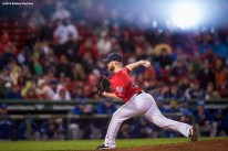 BOSTON, MA - SEPTEMBER 30: Craig Kimbrel #46 of the Boston Red Sox delivers during the ninth inning of a game against the Toronto Blue Jays on September 30, 2016 at Fenway Park in Boston, Massachusetts. (Photo by Billie Weiss/Boston Red Sox/Getty Images) *** Local Caption *** Craig Kimbrel