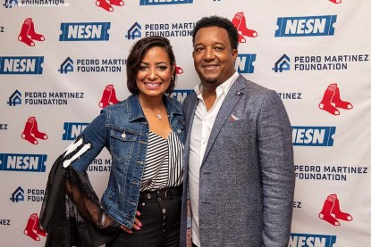 June 29, 2018, Boston, MA: The Feast With 45 At Fenway event is held with former Boston Red Sox pitcher Pedro Martinez, other professional athletes, and over 45 famous Boston chefs at Fenway Park in Boston, Massachusetts Friday, June 29, 2018. (Photo by Billie Weiss/Pedro Martinez Foundation)
