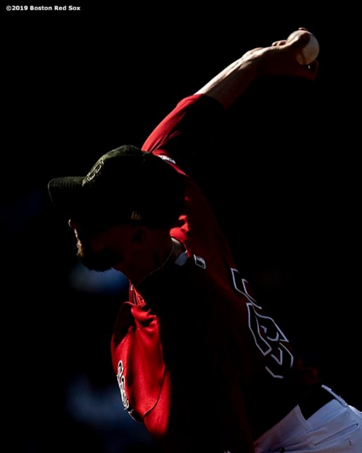 BOSTON, MA - MAY 19: Matt Barnes #32 of the Boston Red Sox delivers during the eighth inning of a game against the Houston Astros on May 19, 2019 at Fenway Park in Boston, Massachusetts. (Photo by Billie Weiss/Boston Red Sox/Getty Images) *** Local Caption *** Matt Barnes