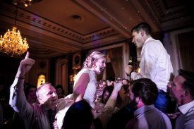 December 7, 2019, Baltimore, MD: The wedding of Lindsay Buccola and Graham Peck at the Hotel Indigo, Emmanuel Episcopal Church, and the Belvedere Hotel in Baltimore, Maryland Saturday, December 7, 2019. (Photo by Billie Weiss)
