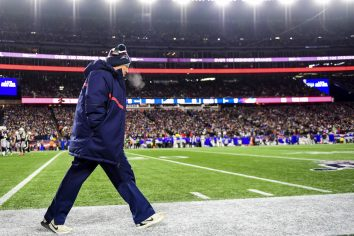 FOXBOROUGH, MA - DECEMBER 21: Head coach BILL BELICHICK of the New England Patriots looks on during the fourth quarter of a game against the Buffalo Bills at Gillette Stadium on December 21, 2019 in Foxborough, Massachusetts. (Photo by Billie Weiss/Getty Images) *** Local Caption *** BILL BELICHICK