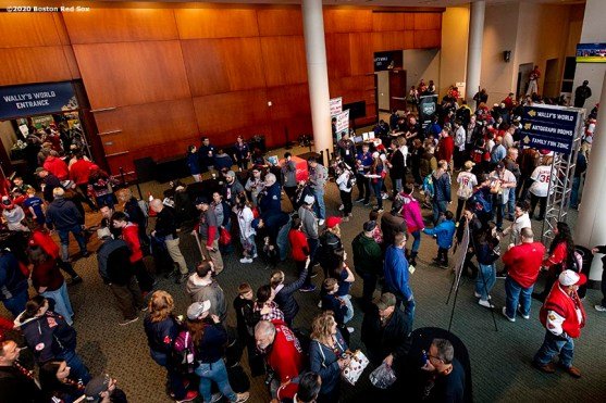 SPRINGFIELD, MA - JANUARY 18: A general view of the fan fest during the 2020 Red Sox Winter Weekend on January 18, 2020 at MGM Springfield and MassMutual Center in Springfield, Massachusetts. (Photo by Billie Weiss/Boston Red Sox/Getty Images) *** Local Caption ***