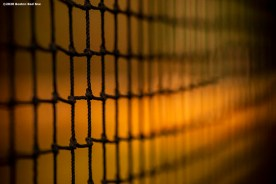 FT. MYERS, FL - FEBRUARY 15: A batting cage net is shown during a Boston Red Sox team workout on February 15, 2020 at JetBlue Park at Fenway South in Fort Myers, Florida. (Photo by Billie Weiss/Boston Red Sox/Getty Images) *** Local Caption ***