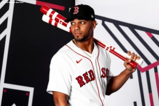 FT. MYERS, FL - FEBRUARY 19: Xander Bogaerts #2 of the Boston Red Sox poses for a portrait during team photo day on February 19, 2020 at jetBlue Park at Fenway South in Fort Myers, Florida. (Photo by Billie Weiss/Boston Red Sox/Getty Images) *** Local Caption *** Xander Bogaerts