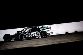 Justin Bonsignore, driver of the #51 Phoenix Communications Inc. Chevrolet competes during the Thompson 150 for the NASCAR Whelen Modified Tour at Thompson Speedway Motorsports Park in Thompson, Connecticut on September 3, 2020. (Billie Weiss/NASCAR)