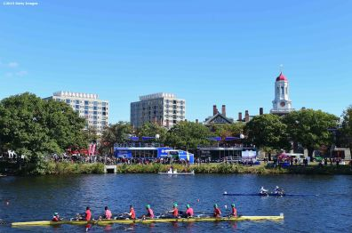 BOSTON, MA - OCTOBER 17: A general view during a Road to Rio Tour presented by Liberty Mutual Insurance event on October 17, 2015 at the Head of the Charles Regatta in Boston, Massachusetts. (Photo by Billie Weiss/Getty Images for the USOC)