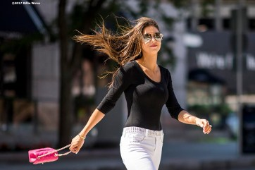 """""""A lifestyle fashion shoot in downtown Boston, Massachusetts Tuesday, June 20, 2017."""""""