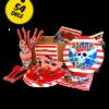 Pirat basis pakken - Basis pakke med alt hvad du behøver til den perfekte pirat fødselsdag: Danmarks bedste og billigste pirat fødselsdags pakke