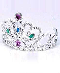 """Prinsesse diadem - perfekt til prinsesse børnefødselsdag og standard i vore billige prinsesse luksus pakke fra """"Billig Børnefødselsdag"""""""