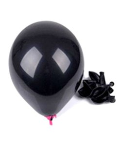 """Billige """"non toxic"""" sorte balloner til børnefødselsdag"""
