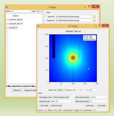 2D diffraction image integration