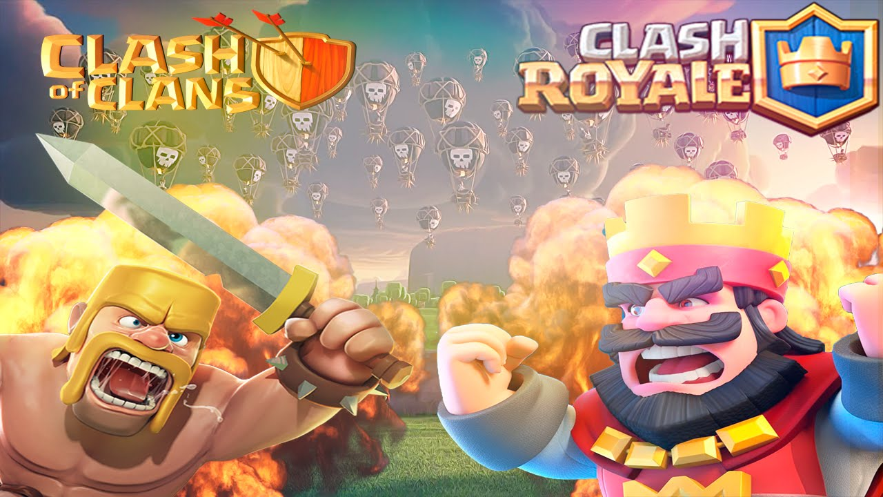 Clash Of Clans Vs Clash Royale Best Interface And New Skills