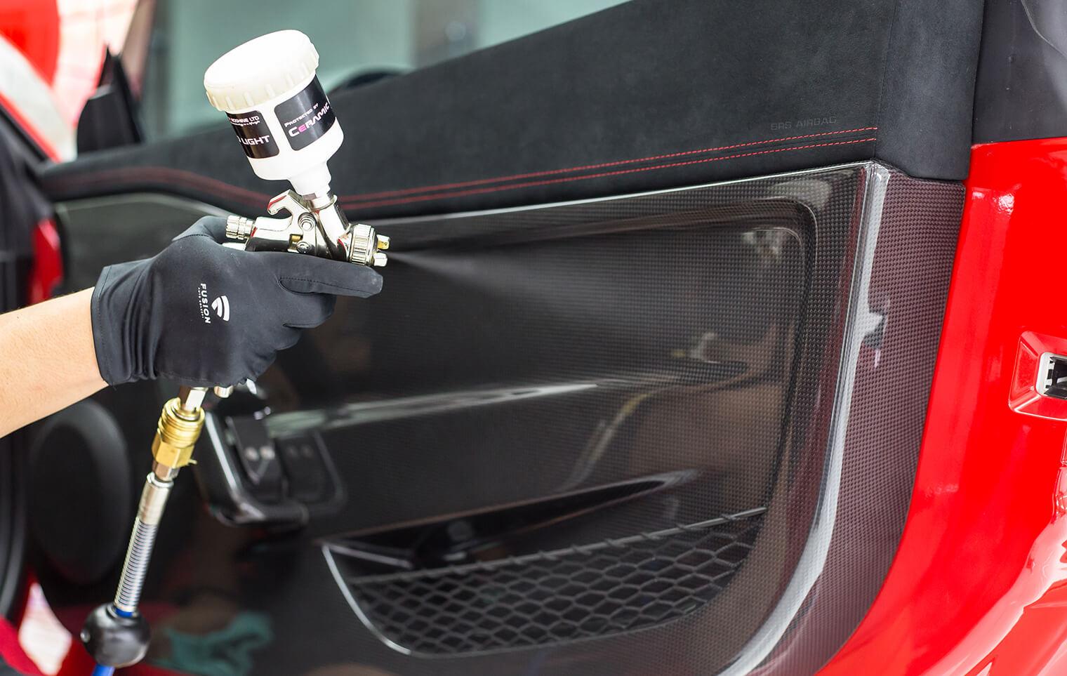 Car Interior Plastic Restorer