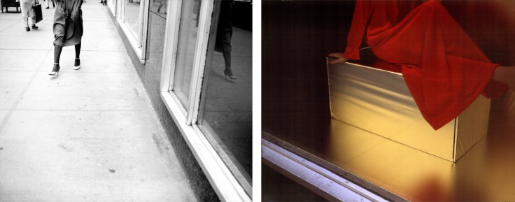 Bill Jones, The Human Condition (Boudioir), 1979, diptych, color and silver print, 61 x 152 cm, 24 x 60 inches