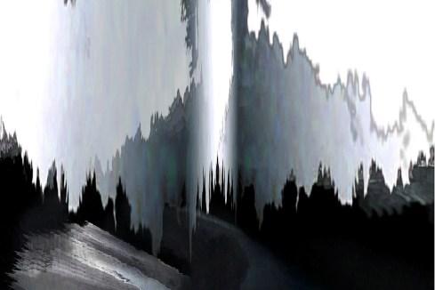 "Bill Jones, Electric Water 6, 2011, Iris Print, 30"" x 40""."