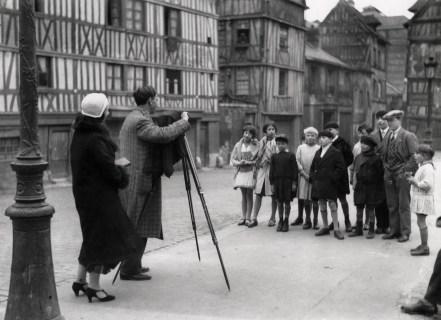 André Kertész and Anna Marsan Rouen, 1930