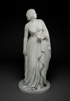 """Lady Godiva,"" 1864, Anne Whitney, Dallas Museum of Art"