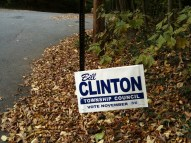 Bill Clinton For Township Council