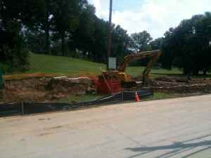 Drainage System For Cop Hill