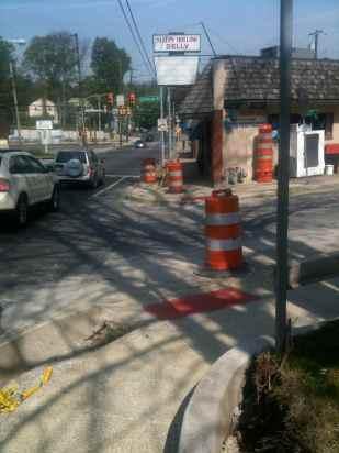 Springfield Road Curb Cuts