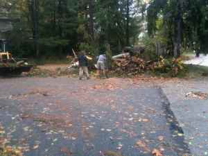 Hurricane Sandy Springfield Photo Essay 2:02 p.m. Oct. 30, 2012