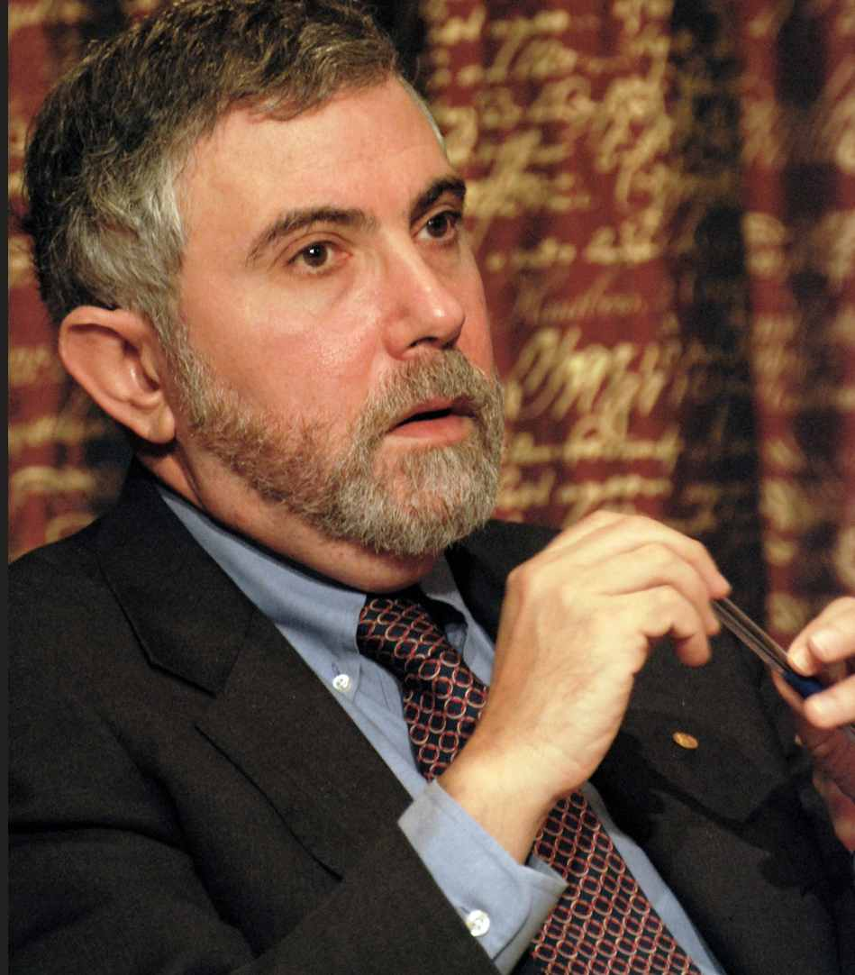income inequality paul krugman Ask ceos about income inequality and stagnant wages, and you'll  another  nobel prize winner, paul krugman, gave reich's book a positive.