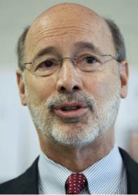 Governor Wolf Handshake Dishonorable