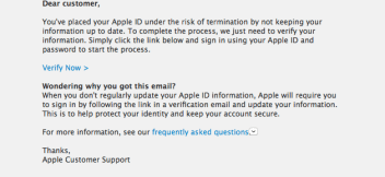 Apple Phishing Site