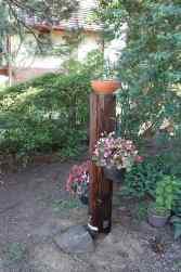 Utility Pole Planter