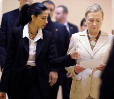 huma abedin and Hillary