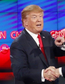 Donald Trump viral Frail Bill Clinton