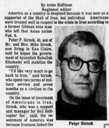 Peter Strzok Dad Saw Iranian Revolution