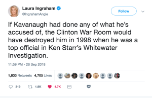 Proof Positive Kavanaugh Is Innocent