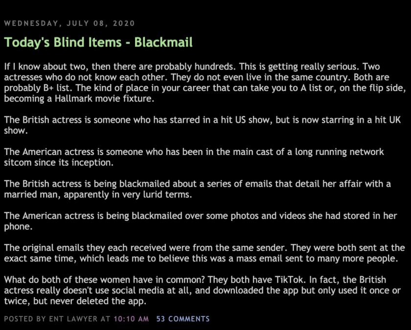 TikTok Blackmail Tool