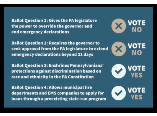 Ballot Measures 2Y 2N On May 18